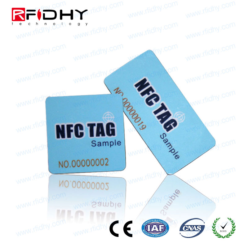 NFC NTAG 216 tag work with android mobile phone