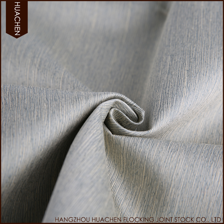 Hot selling high quality plain polyester blackout curtains fabric for manufactured home