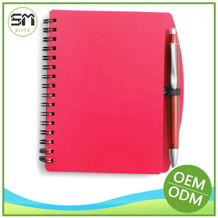 Top level bottom price staple printed notebook