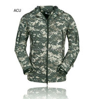 100% polyester soft shell jacket