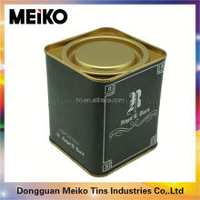 wholesale metal biscuit cookie box packaging coffee tin cans