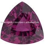 Rhodolite Garnet Trillion Cut Gemstone