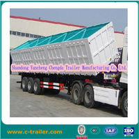 TRI-axle side dump semi trailer for sale