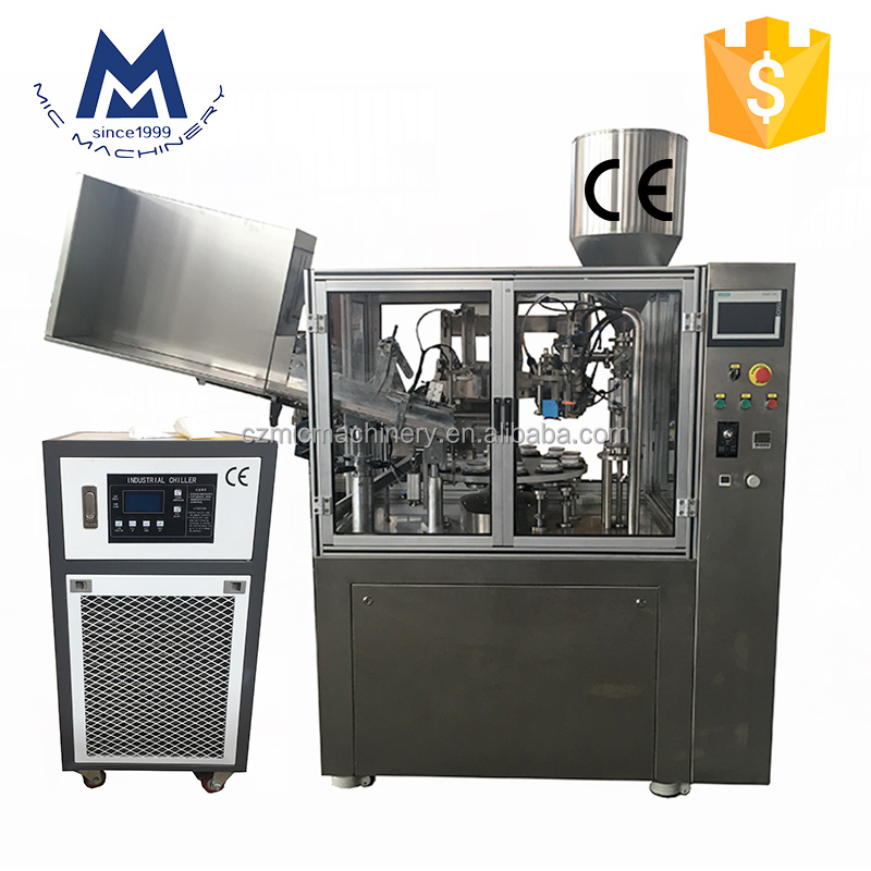 MIC-R60 automatic cosmetic tube sealing machine
