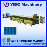 Hangzhou YIBO wall panel roll forming machine for sale