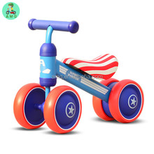 Children Ride On car toys slide 3 in 1 4 Wheel baby scooter / kids balance bike / Swing car