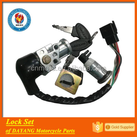 factory provide DAYANG motorcycle parts lock set igniter switch