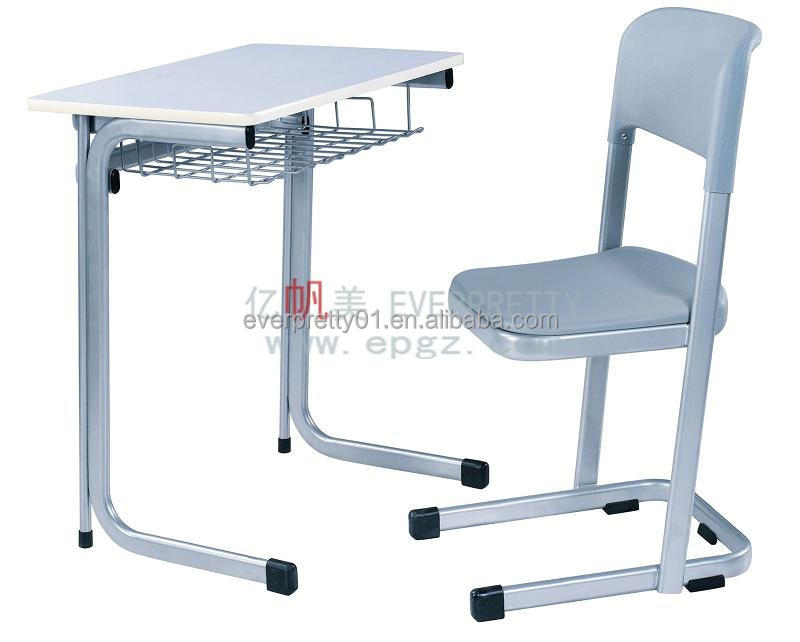 College Student Furniture Single Studying Desk And Chair Seat