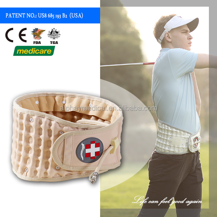Medical products orthopedic lumbar spinal support belt