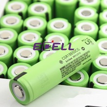 high quality CGR18650CG 2250mah 3.6V 18650 li-ion rechargeable battery 10A discharge cgr18650cg