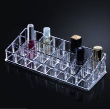 Custom Clear Acrylic Lipstick Organizer Display Stand Holder
