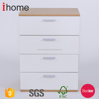 High quality goods classical bone inlay chest of 4 drawer