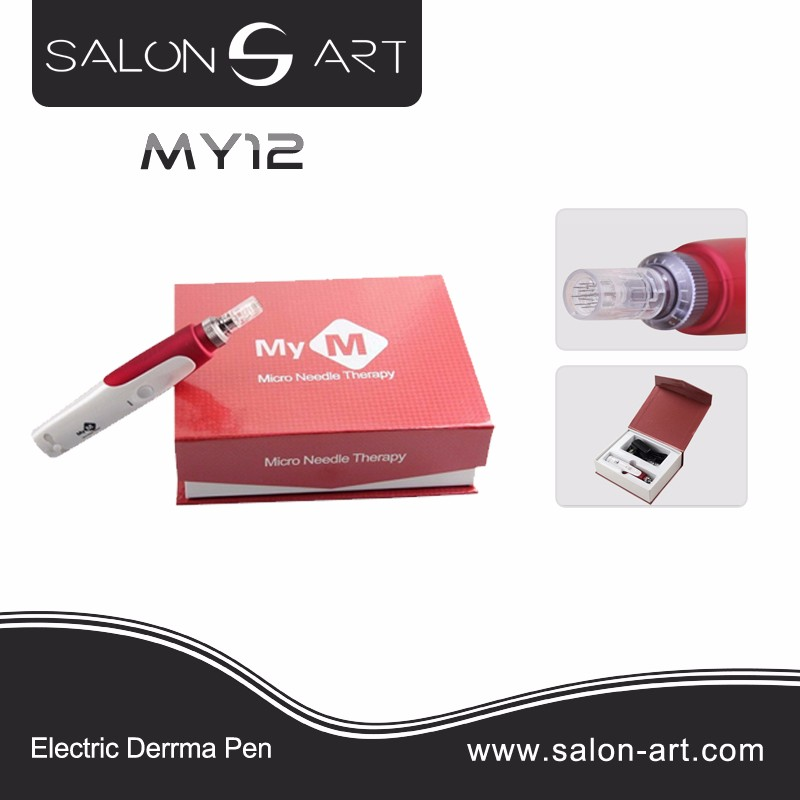MY12 Skin care products electric derma needle roller skin derma pro