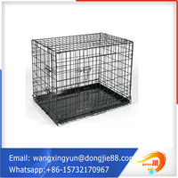Foldable Heavy Duty Stainless Steel Dog Cage