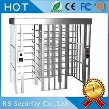 Access Control Full Height Turnstile Gate Barrier