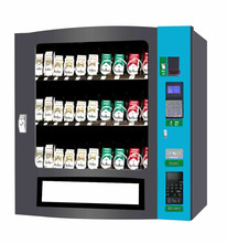 Univesal hotel use coin operated easy management cigarette/coffee /condom vending machine