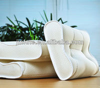 MengQi 3D new material 100% polyester breathable air S shape adult curved massage pillow