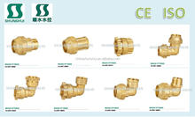 SSF20660 Male Female Brass fitting water gas oil media