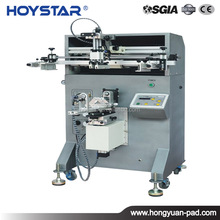 Cylindrical silicone rubber band printing machine