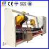 Automatic double shaft double knife adhesive tape cutting machine plastic film cutter machine