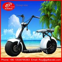 China Factory Free Shipping Trade Assurance Two Wheels Colorful Customizable Citycoco Electric Scooter