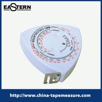 BMI-35 cheap mini heart shaped bmi tape measure