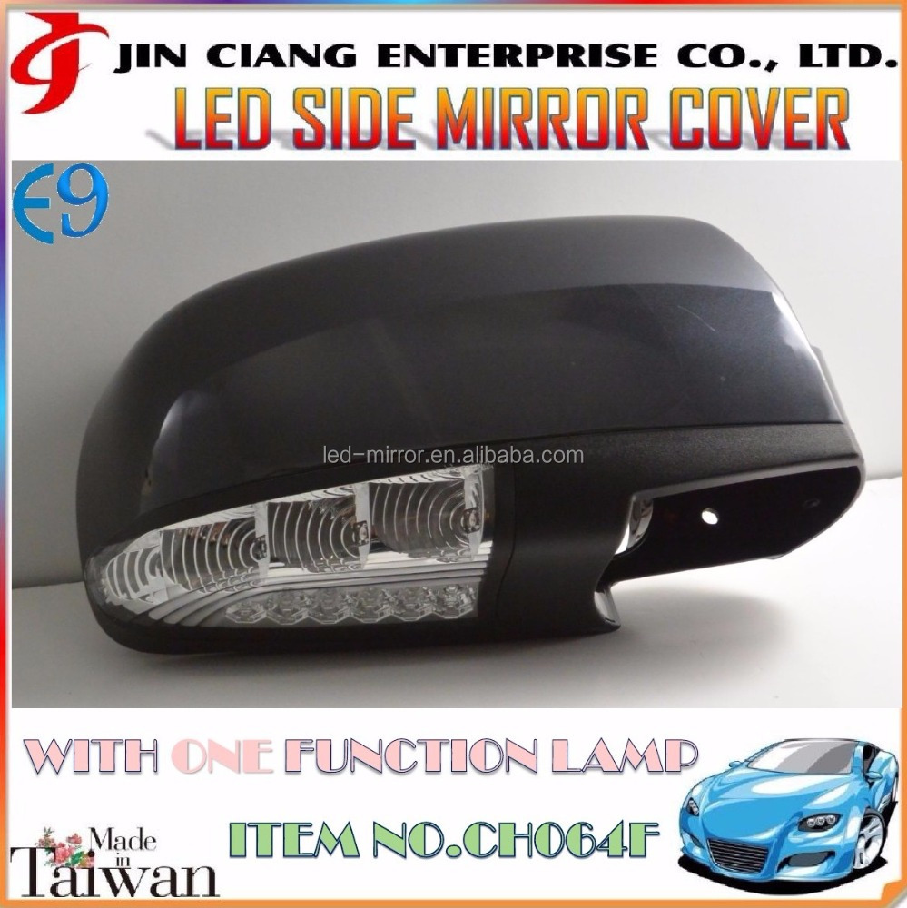Promotion product Body Kit For HYUNDAI SANTA FE LED MIRROR COVER