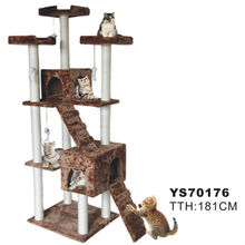 Luxury Indoor Outdoor Cat Play Furniture Cat Tree House