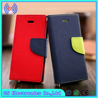 2014 new arrival Goospery credit card holder slot wallet leather cover for lg optimus g pro lite