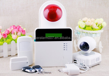Android and IOS APP GSM wireless alarms system,two way talking function customized menu alarm system