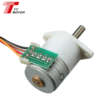Micro torque 5V dc gear 10 to 1 stepping motor