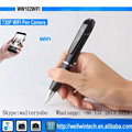 Hot security wifi pen camera hidden wifi camcorder HD 720p wireless video pen camera DV