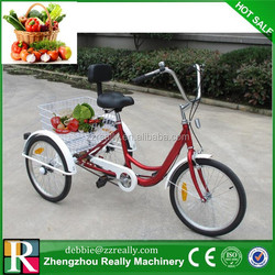 "unique fashion design 3 wheels chldren bicycle / pretty children tricycle with two basket / 12"" children bicycle tricycle"