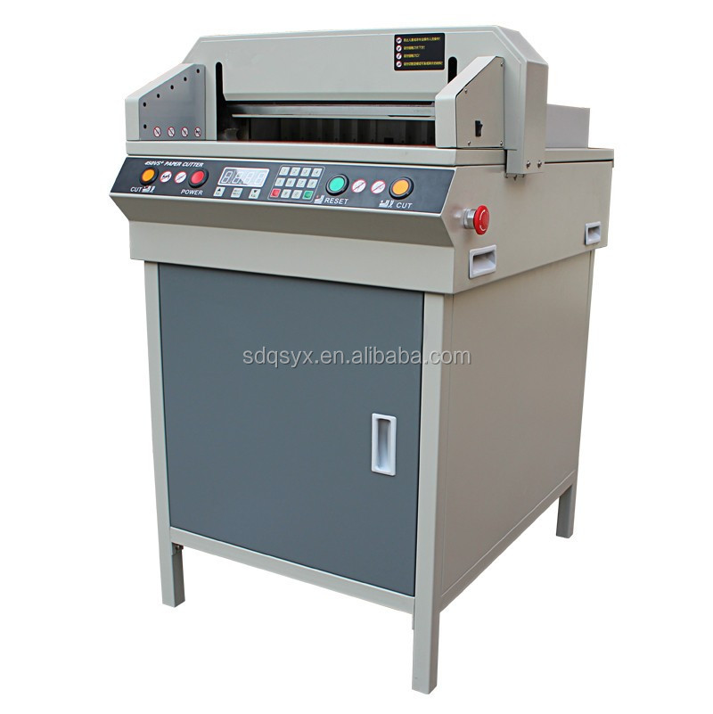 High precision Office automatic electric paper cutter G450VS+