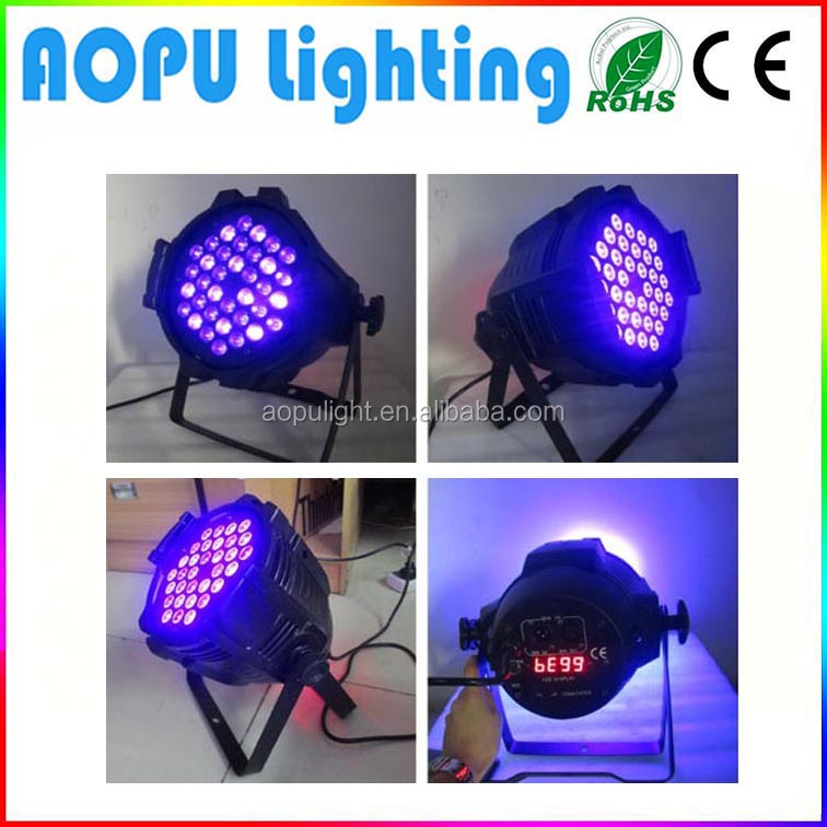 top 10 led light brands 36X3W LED UV par64 fly tying uv led light