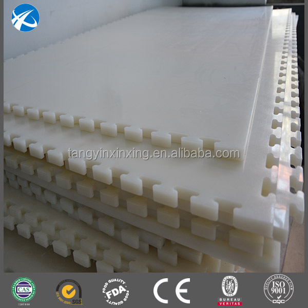Plastic Recycle Sliding White Board / Ice Rink Board