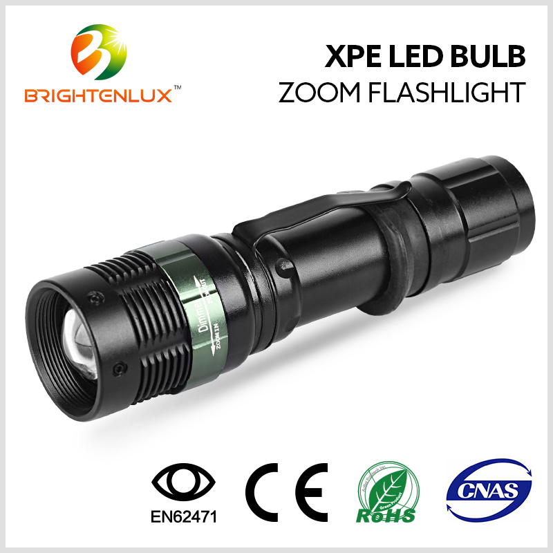 Wholesale led Flashlight Cree Q5 Flashlight Tactical 3 mode, 3.7v Rechargeable led Cree Q5 Flashlight Torch Light