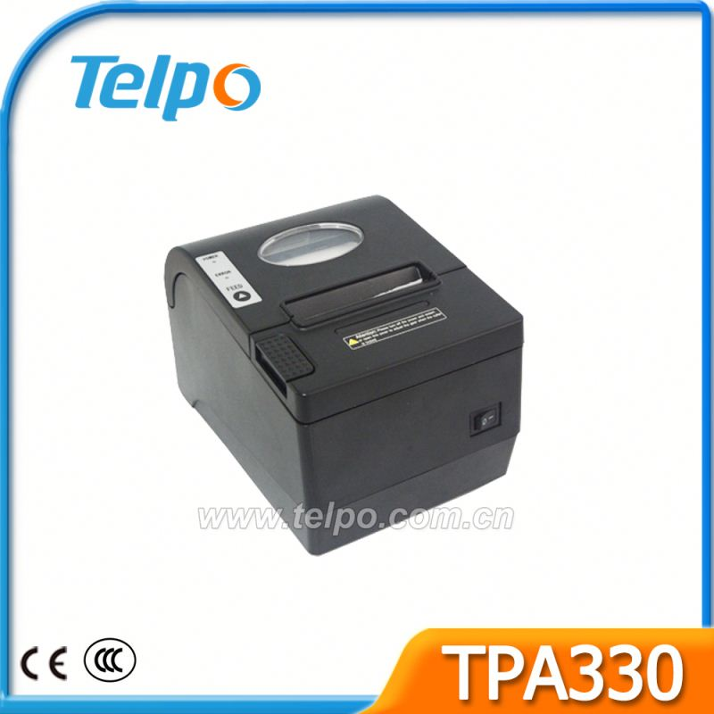 Easy to install paper roll Battery Powered pos 80 c printer drivers With Indicator light