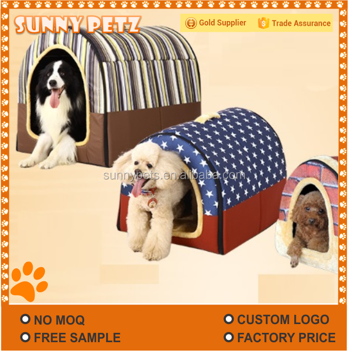 Dog Tunnel Puppy Insulated Dog Hut-Pets House