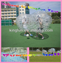 Clear Durable inflatable soccer bubble/bubble football