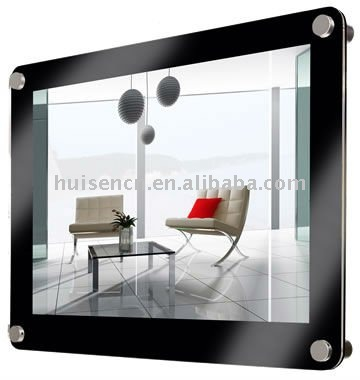 OEM acrylic wall mounted photo frame for retial and wholesale