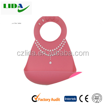 high quality silicone baby bib waterproof silicone baby bib wholesale bob109