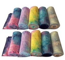 China wholesale double sided printed yoga mat towel