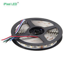Customized length RGBWW RGBW led strip four colors in one led 12/24V