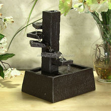Spiral Staircase Mini Resin Desk Water Fountain