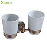 Oil Rubbed Bronze Double Cup & Tumbler Holders tumbler Holders