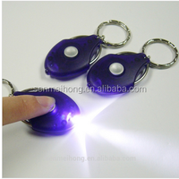 High Quality Newest Novelty LED Keychain Light Cheap LED Keychain Light