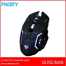 2017 Newest Style LED Light 6 Buttons Gaming Mouse