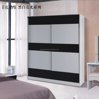 high gloss uv acrylic mdf board modern bedroom wardrobe