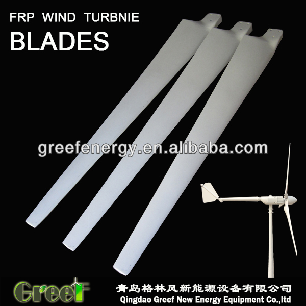HOT ! New Energy eolic wind turbine blade blades low noise level,high quanlity